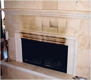 How To Clean Granite Fireplace Removing Soot From A Fireplace Tile Cleaners Paint Removal From