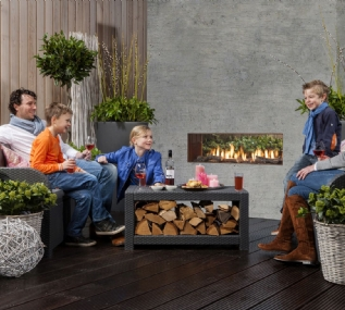 Faber Mood outdoor fire