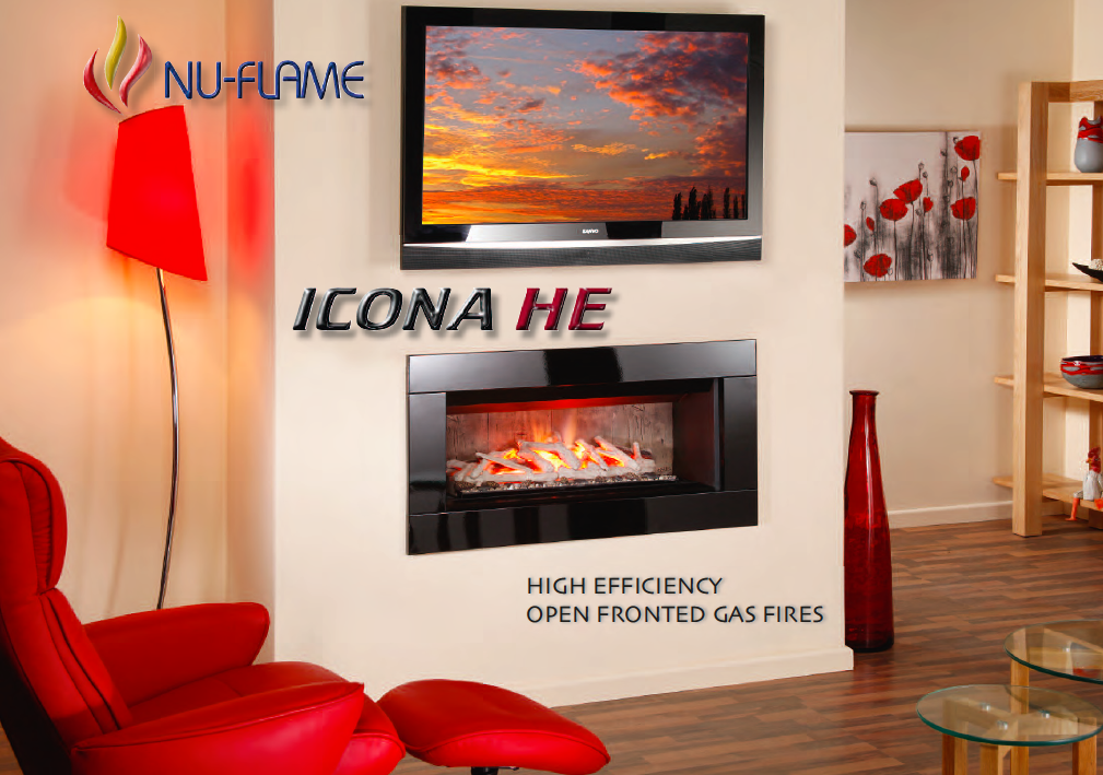 Nu-Flame icon gas fire