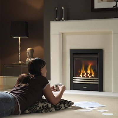 Magiglo tribute balanced flue gas fire