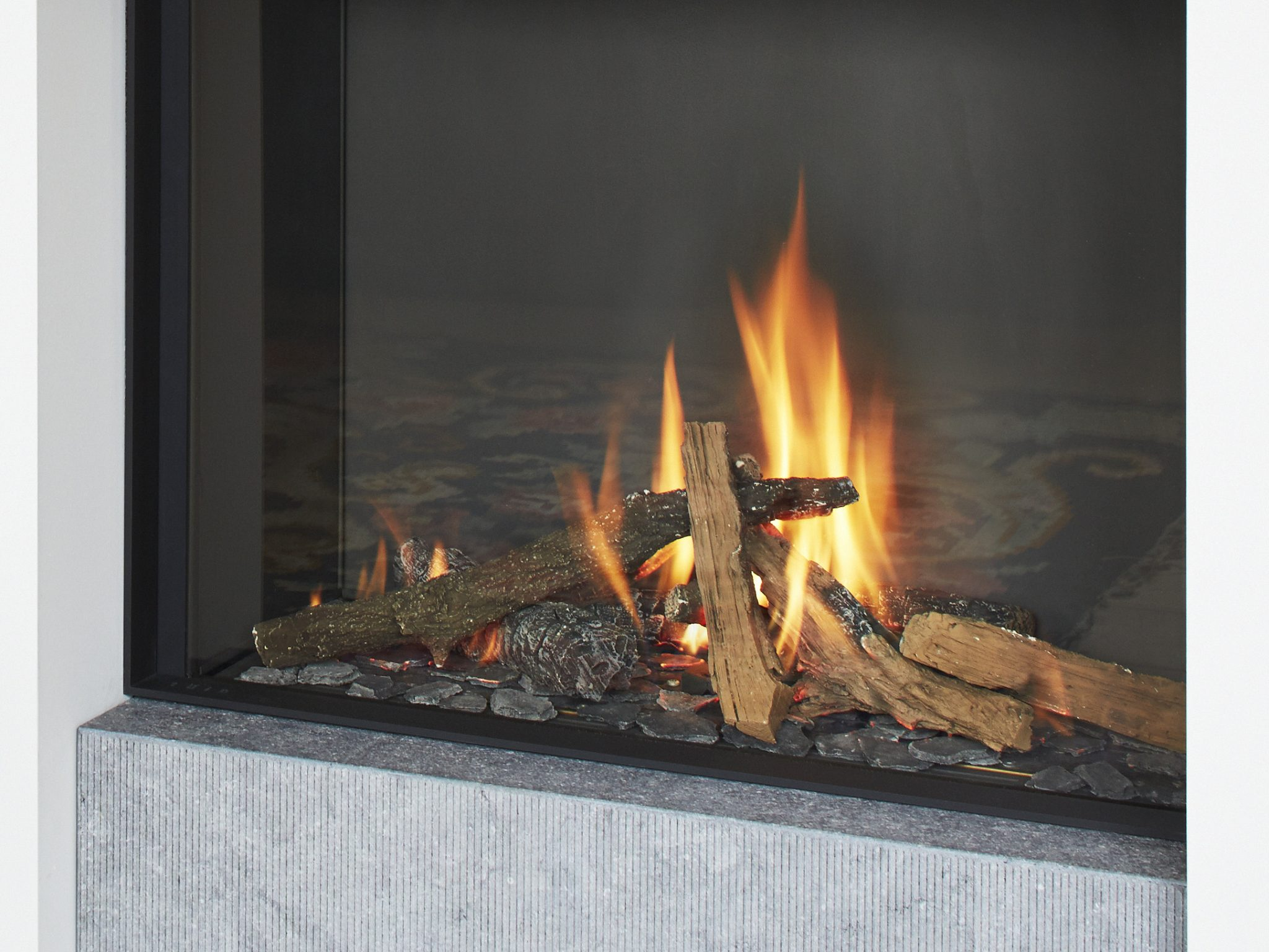 Stuv Tulp Gas Stone And Fire