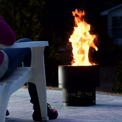 Flame Genie outdoor fire bowl